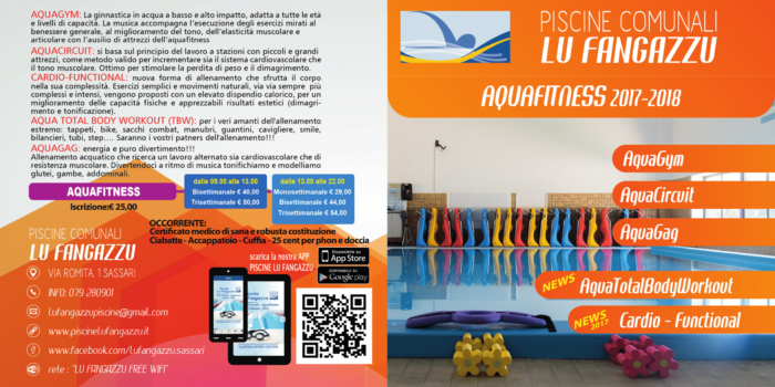 Piscine Comunali Lu Fangazzu Aquafitness Front