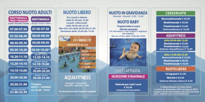 brochure nuoto_2022 lufangazzu 2